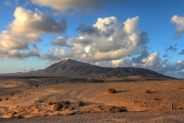 Landscape in Lanzarote, Canary Islands, Spain