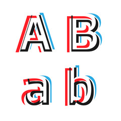 Abstract vector alphabet