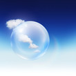 cloud sky bubble