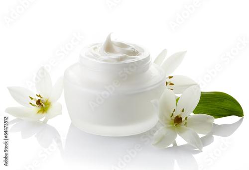 Leinwanddruck Bild Cosmetic cream