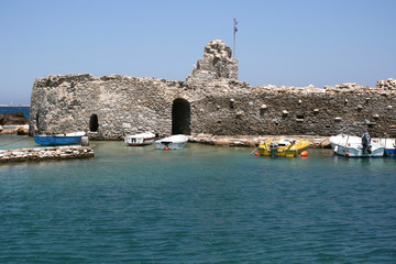 Port Naoussa Paros Cyclades Greece 01