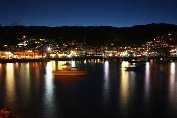 Avalon Bay Catalina at Night