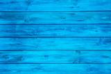Blauer Hintergrund aus Holz - leer und niemand.
