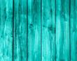 Holz Hintergrund türkis - leere Bretter als Kulisse