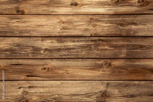 Rustikaler alter Holz Hintergrund - leer. - 64480117