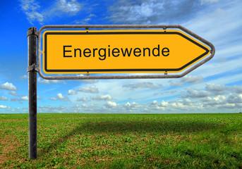 Strassenschild 17 - Energiewende