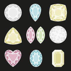 Gems cut design