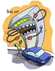 Gas Pump Robbery