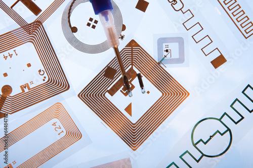 RFID implantation syringes and RFID tags - 64484782