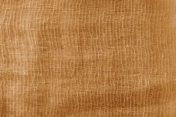 the painted gauze texture of  brown color