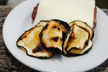 Grilled Zucchini as a Healthy Summer Side Dish
