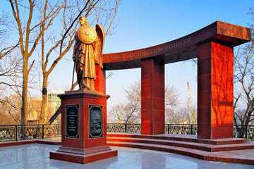 Monument to the heroes of the Russian-Japanese War of 1904-1905,