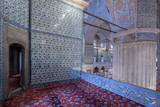 Internal view of Blue Mosque, Istanbul