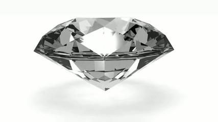Rotierender Diamant