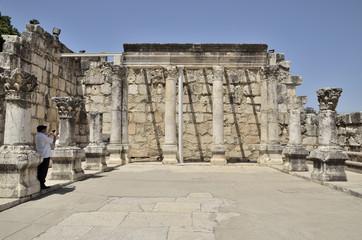 Capernaum white synagogue