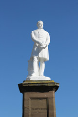 Statue of Scottish doctor and reformer Joseph Hume