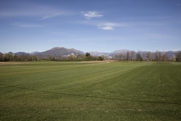 Paesaggio della verde Brianza