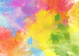 Fototapety Colorful Watercolor Background.
