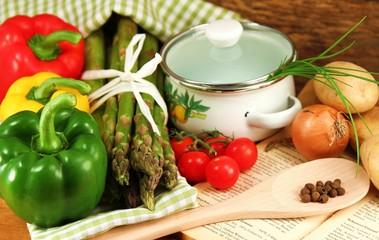 Gemüse in der Küche
