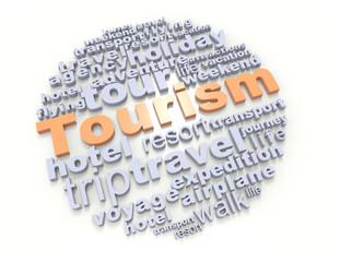 Crossword tourism concept