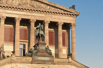 Alte Nationalgalerie (Old National Gallery) on Berlin, Germany