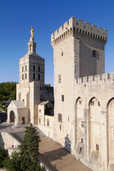 Cathedral of Avignon and Tour de la Campane