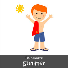 Four Seasons_Summer Boy