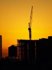 Crane Silhouette NYC-5