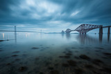 Forth bridges in Edinburgh, Scotland - 64491702
