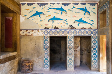 Remainings of an ancient fountain in Knossos