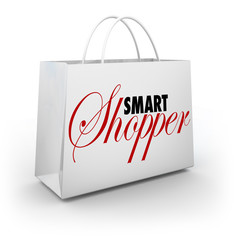Smart Shopper Shopping Bag Buying Merchandise Store Sale