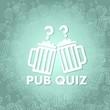 canvas print picture - pub quiz symbol background