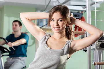 Patients at the physiotherapy clinic