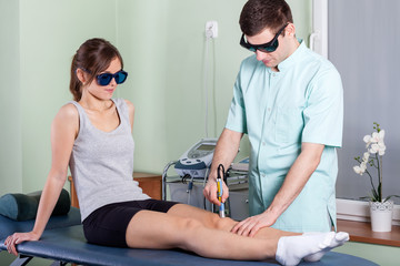 Laser physiotherapy
