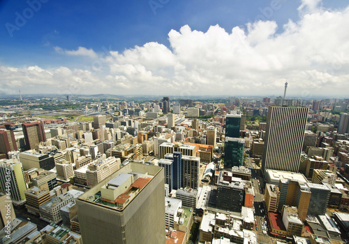 Papiers peints Pays d Afrique Johannesburg Skyline from top of South Africa