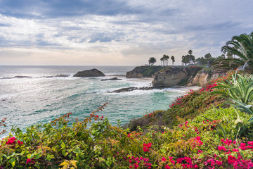 Beautiful park at Laguna Beach