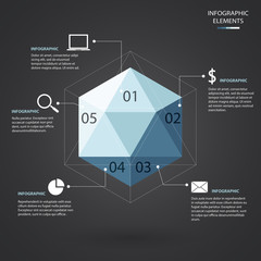 Hexagon Infographic.