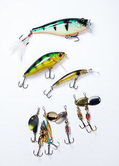 fishing hooks with bait
