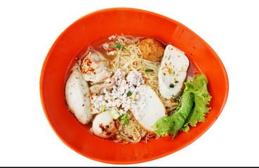 Tom yum noodles Sukhothai