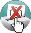 Grafik Wahl online - Briefwahl, Wahlschein