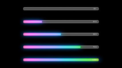 process bar color pink