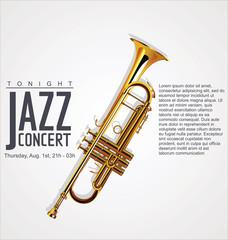 Music background - JAZZ concert