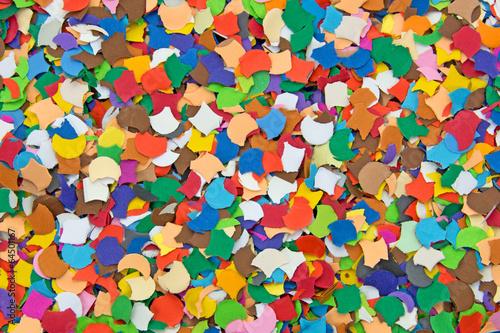 canvas print picture Konfetti