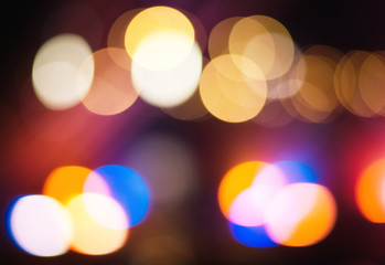multi colored bokeh