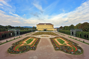 The residence of the Austrian Habsburgs