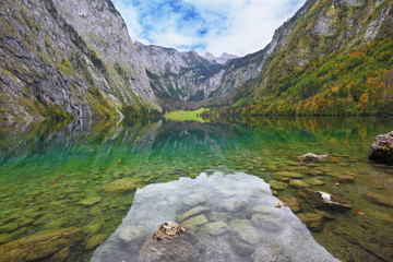 Fabulously beautiful lake Koenigssee