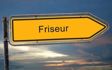 Strassenschild 19 - Friseur