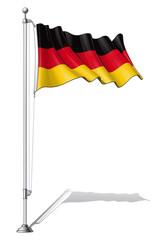 Flag Pole Germany.