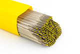 Welding electrodes wire. poster