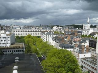 vue sur Rennes